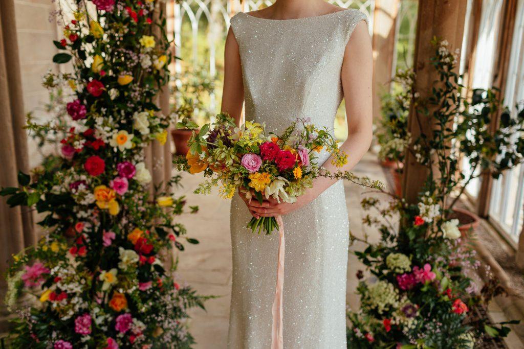 scottish elopement wild wedding flowers by briar rose design