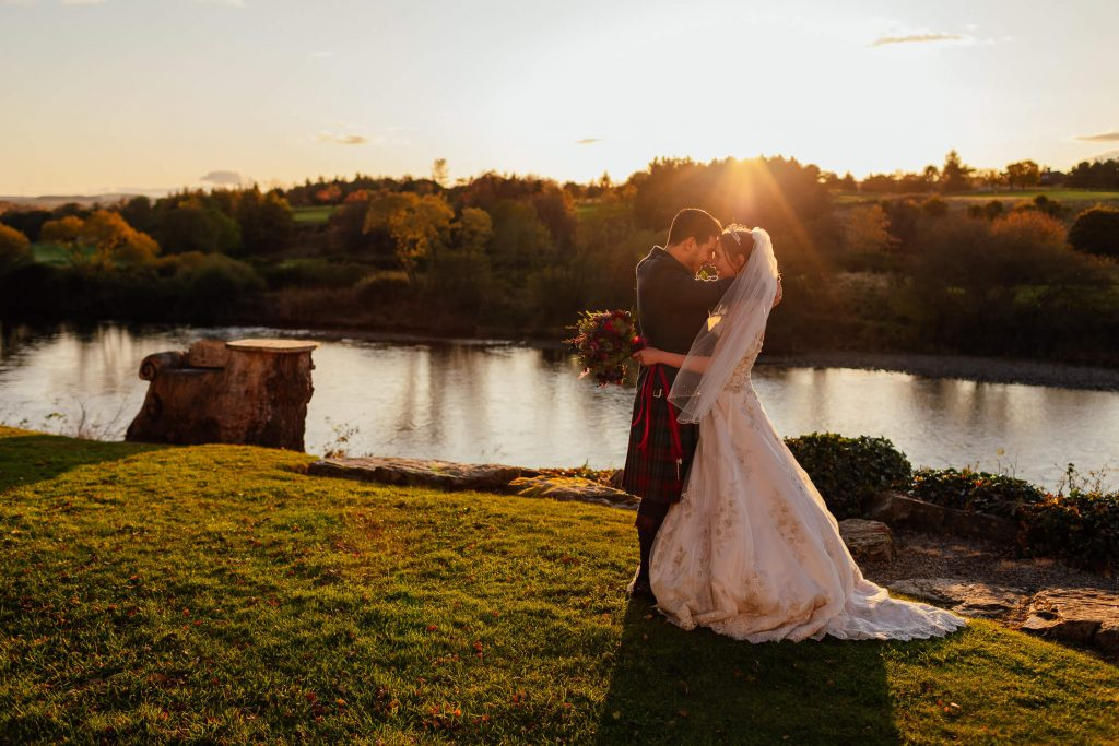 elope to Scotland and get married at sunset