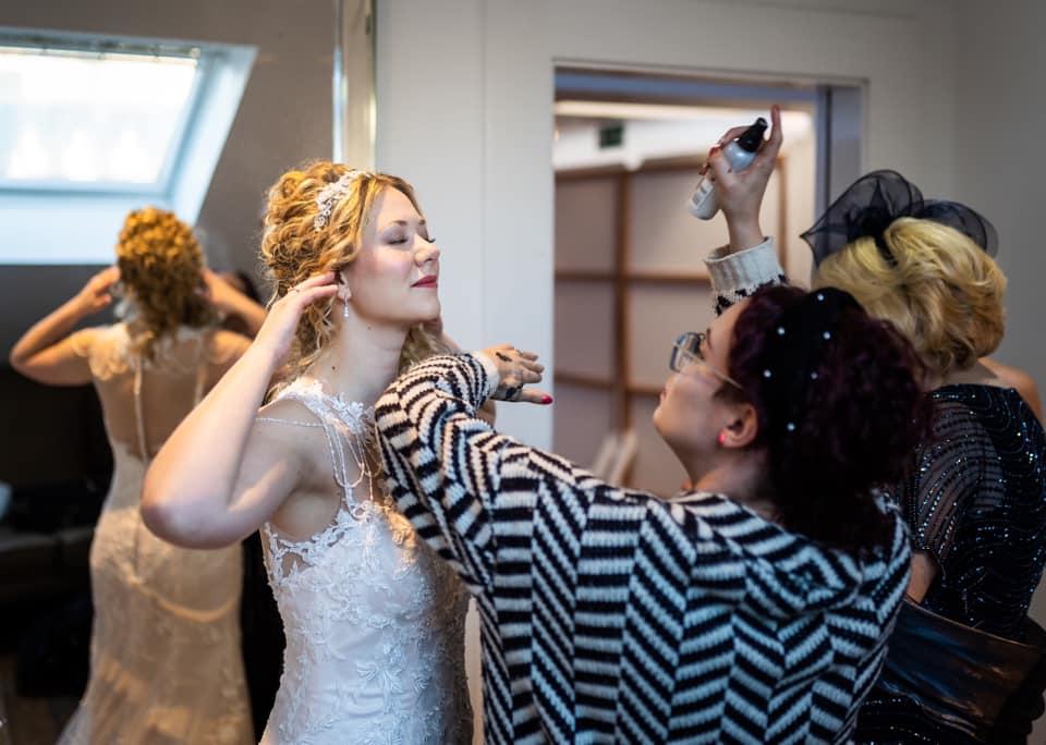 mobile hair and makeup artist scotland elopements Jenna Clayton